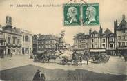 "80 Somme / CPA FRANCE 80 ""Abbeville, place Amiral Courbet"""