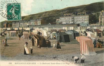 """CPA FRANCE 62 """"Boulogne sur Mer, le bld Sainte Beuve"""""""
