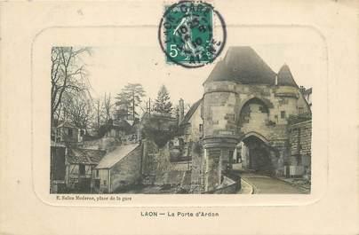 """/ CPA FRANCE 02 """"Laon, la porte d'Ardon"""""""