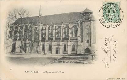 """/ CPA FRANCE 28 """"Chartres, l'église Saint Pierre"""""""