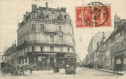 """/ CPA FRANCE 18 """"Bourges, place Cujas"""" / TRAMWAY"""