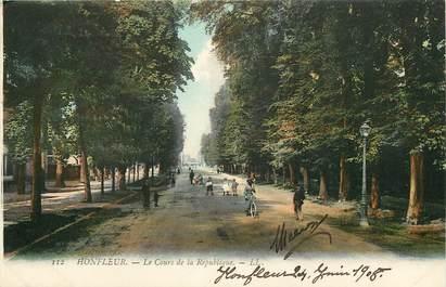 """CPA FRANCE 14 """"Honfleur, le cours de la République"""""""
