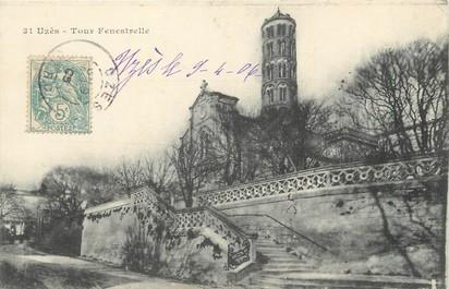 """/ CPA FRANCE 30 """"Uzès, tour Fenestrelle"""""""