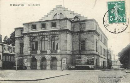 """/ CPA FRANCE 60 """"Beauvais, le théâtre"""""""