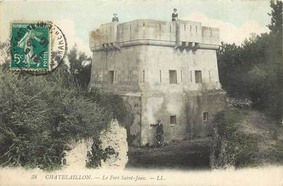 "CPA FRANCE 17 ""Chatelaillon, le Fort Saint Jean"""