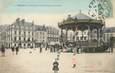 """/ CPA FRANCE 56 """"Lorient, le kiosque de la place Alsace Lorraine"""""""