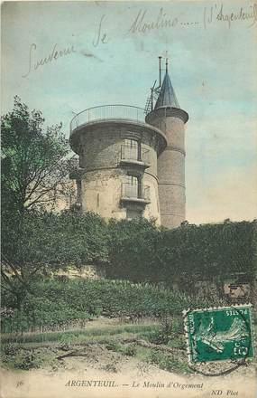"""CPA FRANCE 95 """"Argenteuil, moulin d'Orgemont"""""""