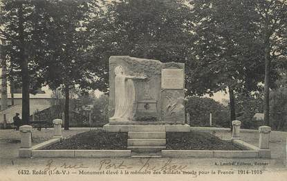 """/ CPA FRANCE 35 """"Redon, monument aux morts"""""""