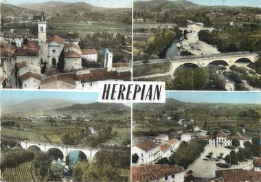 """/ CPSM FRANCE 34 """"Herepian"""""""