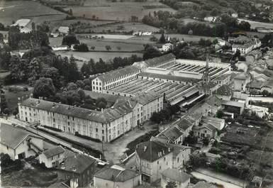 """/ CPSM FRANCE 38 """"Saint Siméon de Bressieux, les usines et quartier du grand chemin"""""""