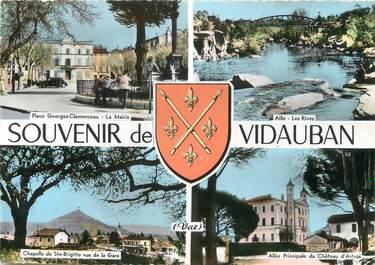 "/ CPSM FRANCE 83 ""Souvenir de Vidauban"""