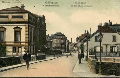 """CPA FRANCE 68 """"Mulhouse, rue des Bonnes Gens"""""""