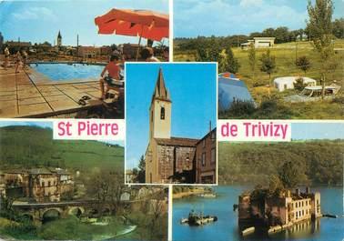 """/ CPSM FRANCE 81 """"Saint Pierre de Trivisy et ses environs"""""""