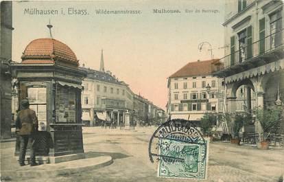 "CPA FRANCE 68 ""Mulhouse, rue du Sauvage"""