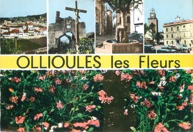 """/ CPSM FRANCE 83 """"Ollioules, les fleurs"""""""
