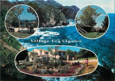 """/ CPSM FRANCE 83 """"Six Fours Les Plages, village Les Cigales"""""""