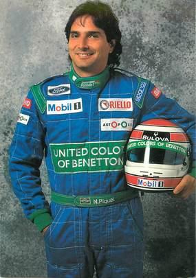 """CPSM AUTOMOBILE """"Nelson Piquet"""""""