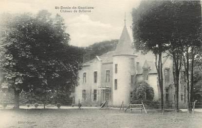 """/ CPA FRANCE 53 """"Saint Denis de Gastines, château de Bellevue"""""""