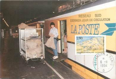 """CPSM POSTE """"Chargement d'un wagon postal"""""""