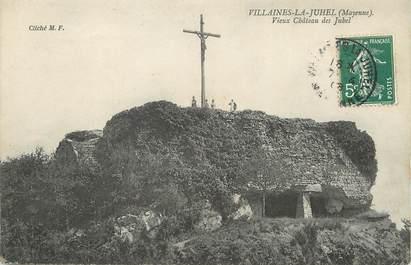 """/ CPA FRANCE 53 """"Villaines la Juhel, vieux château des Juhel"""""""