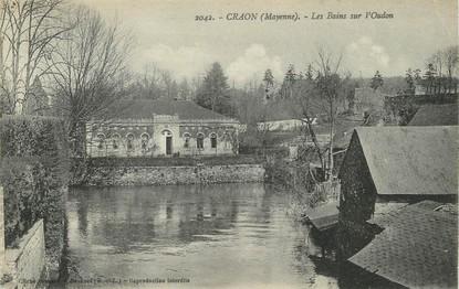 """/ CPA FRANCE 53 """"Craon, les bains sur l'Oudon"""""""