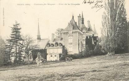 """/ CPA FRANCE 36 """"Mers, château du Magnet, côte de la Chapelle"""""""