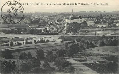 """/ CPA FRANCE 36 """"Saint Gaultier, vue panoramique sur la Creuse"""""""