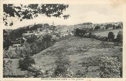 """/ CPA FRANCE 36 """"Saint Sevère sur Indre, vue générale"""""""