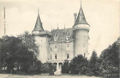 """/ CPA FRANCE 36 """"Saint Chartier, château de Saint Chartier"""""""