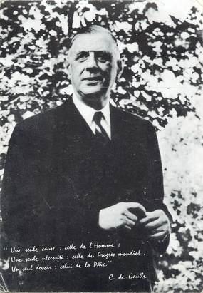 CPSM GÉNÉRAL DE GAULLE