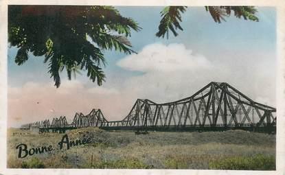 "CPSM VIETNAM ""Hanoi, le pont Doumer"""