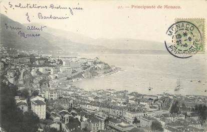 """/ CPA MONACO """"Principauté de Monaco"""""""