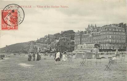 """/ CPA FRANCE 14 """"Trouville, villas et les roches noires"""""""