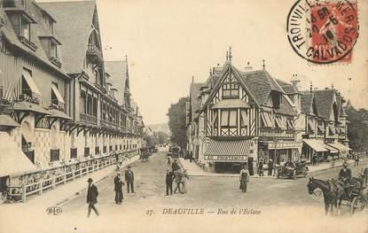 """/ CPA FRANCE 14 """"Deauville, rue de l'écluse"""""""