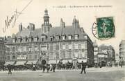 """59 Nord / CPA FRANCE 59 """"Lille, la Bourse et la rue des Manneliers"""""""