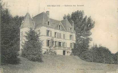 """/ CPA FRANCE 25 """"Maiche, château du désert"""""""