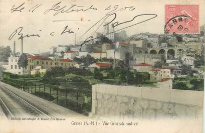 Cpa france 06 grasse vue g n rale 06 alpes for Piene haute 06