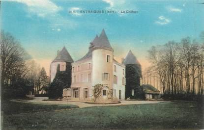 """/ CPA FRANCE 36 """"Entraigues, le château"""""""