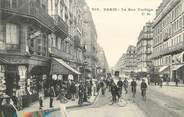 "75 Pari / CPA FRANCE 75002 ""Paris, la rue Turbigo"""
