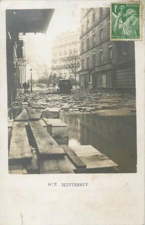 "/ CPA FRANCE 75007 ""Paris, rue Montessoy"" / INONDATION"