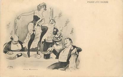 """/ CPA FRANCE 75008 """"Paris qui danse"""""""