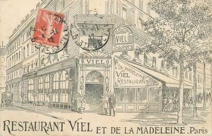 """/ CPA FRANCE 75008 """"Paris, restaurant Viel et de la Madeleine"""""""