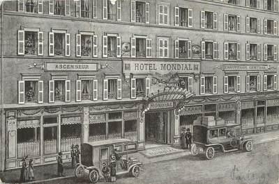 """/ CPA FRANCE 75009 """"Paris, hôtel Mondial"""""""