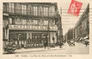 """75 Pari / CPA FRANCE 75009 """"Paris, La place du Delta et la rue Rochechouart"""""""