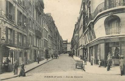 """CPA FRANCE 75009 """"Paris, rue de Navarin"""""""