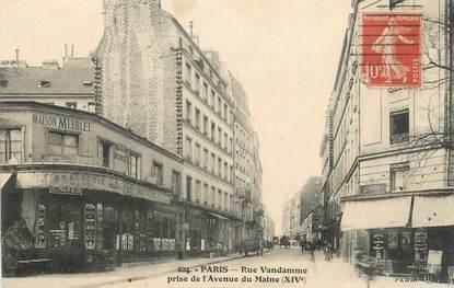 """/ CPA FRANCE 75014 """"Paris, rue Vandamme"""""""