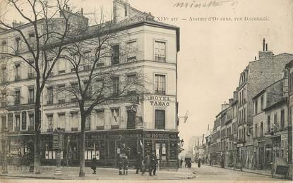 """/ CPA FRANCE 75014 """"Paris, avenue d'Oléans"""""""