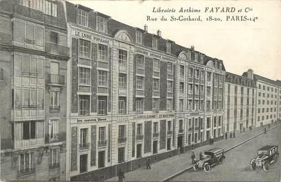 """/ CPA FRANCE 75014 """"Paris, Librairie Arthème Fayard"""""""