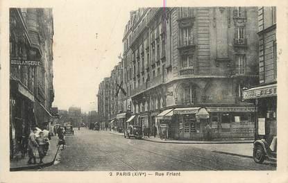 """/ CPA FRANCE 75014 """"Paris, rue Friant"""""""
