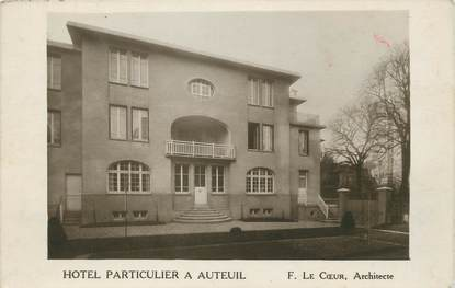 """CPA FRANCE 75016 """"Paris, hôtel Particulier à Auteuil"""""""